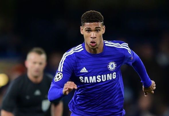 Poster boy: Loftus-Cheek is in talks with Chelsea about a new deal
