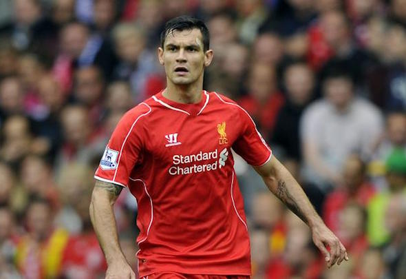 Red hot: Lovren has forged a sound partnership with Sakho in recent weeks
