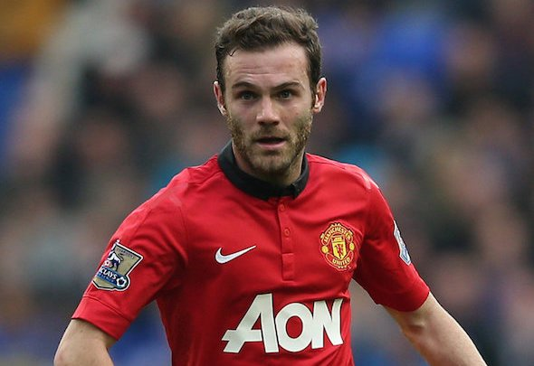 Established star: Juan Mata has started all of United's league matches this season