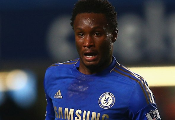 Long serving: Mikel has been at Chelsea for nine years