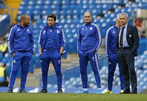 Jose Mourinho staff