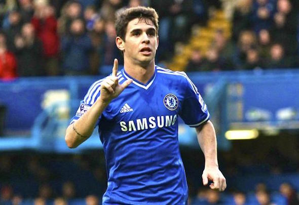 Frozen out: Oscar could be offloaded by Chelsea following his run of poor form