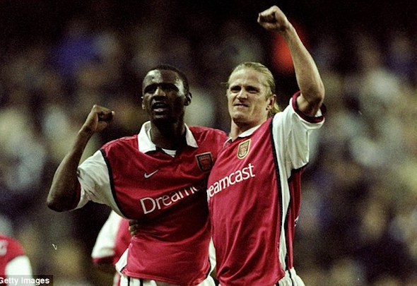 Dynamic duo: Patrick Vieira and Emmanuel Petit were a great midfield partnership
