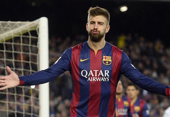 Rock solid: John Stones has impressed serial winner Gerard Pique