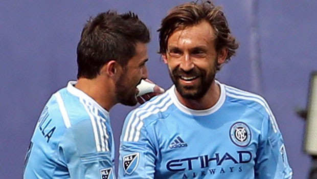Sky-blue thinking: City are weighing up a loan move for MLS star Pirlo