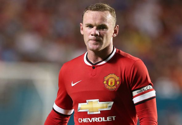 Red alert: Rooney could be out until the new year with an ankle injury
