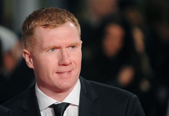 No1 critic: Paul Scholes laid into Van Gaal after the team's 1-0 win over Sheffield United