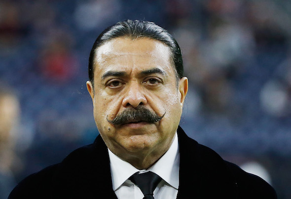 Money man: Fulham owner Shahid Khan could be in line for a windfall