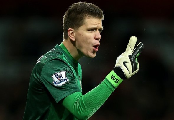 Second chance: Wojciech Szczesny wants to regain his old No1 spot at Arsenal