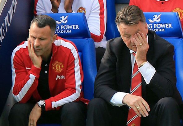 Testing times: Old Trafford is openly unhappy at team's sterile playing style