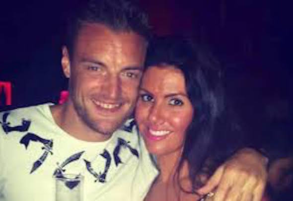 Prankster targets: Vardy and Miss Nicholson have been the victims of yobs