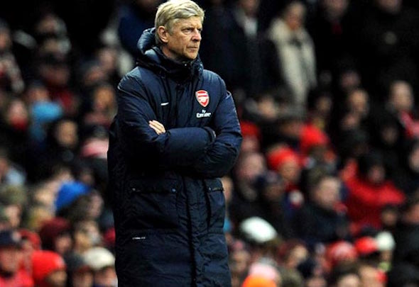 Confidence crisis: Wenger's team were nervy and unconvincing