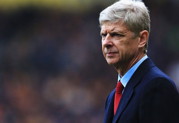 Target man: Wenger wants to strengthen the Arsenal midfield in the summer