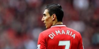 Angel Di Maria has said he was persuaded to leave Manchester United by Laurent Blanc