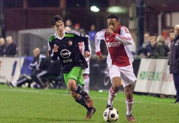 Manchester United are on the trail of Ajax sensation Juan Familia-Castillo