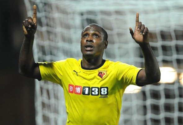 Odion Ighalo has scored more league goals in 2015 than any other play in England's top four leagues