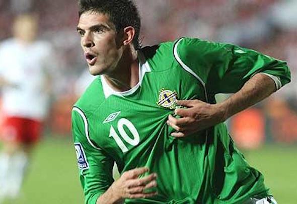 Leeds are targeting a loan deal for Norwich striker Kyle Lafferty