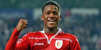 Marseille striker Michy Batshuayi is on the radar of Tottenham and Arsenal