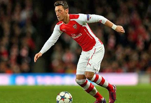 Mesut Ozil has been one of the outstanding Premier League players of the season