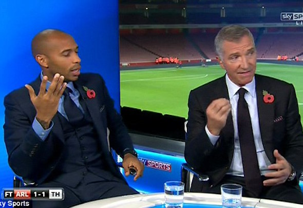 TV pundit Graeme Souness is not convinced that Olivier Giroud is a top-class striker