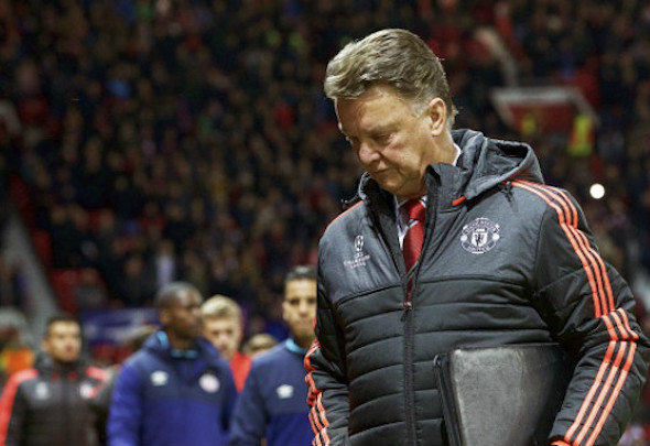 Louis van Gaal has presided over Manchester United's failure to reach the Champions League knockout stages