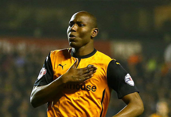 Benik Afobe is set to join Bournemouth in a £10million deal