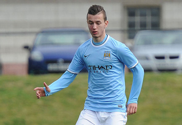 Bersant Celina could leave Manchester City for Celtic on loan