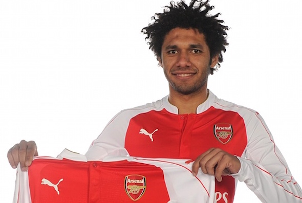 Mohamed Elneny has been unveiled as an Arsenal player
