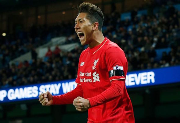 Roberto Firmino set Anfield alight with two stunning first-half goals against Arsenal