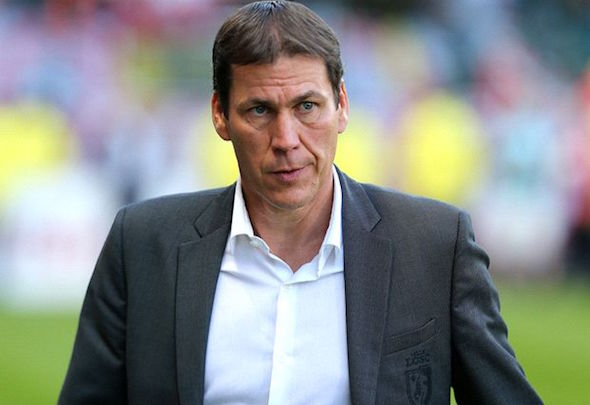 Rudi Garcia is in danger of losing his job as manager of Roma