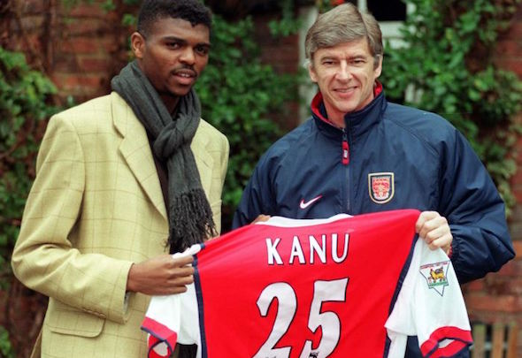 Nwakali has requested the number 25 shirt worn by his hero Kanu