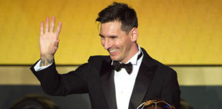 Lionel Messi has won the Ballon d'Or for the fifth time