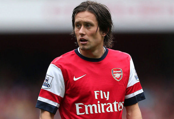 Tomas Rosicky has returned to full training and is in line to return to the squad after eight months