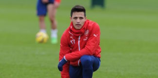 Alexis Sanchez is back in full training ahead of Arsenal's clash against Chelsea