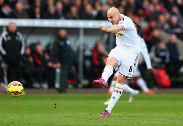 Jonjo Shelvey has joined Newcastle from Swansea in a £12million deal