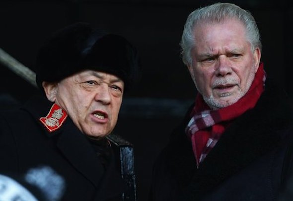 David Sullivan and David Gold have owned West Ham for six years