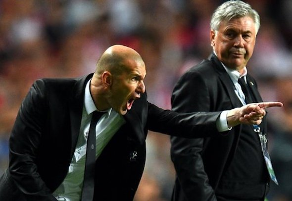 Zinedine Zidane is set to replace Rafa Benitez as Real Madrid manager