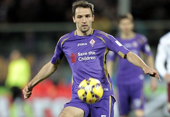 Fiorentina midfielder Milan Badelj is a target for Tottenham