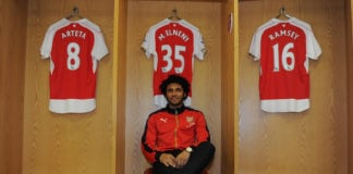 Mohamed Elneny will return to the Arsenal squad for Leicester clash