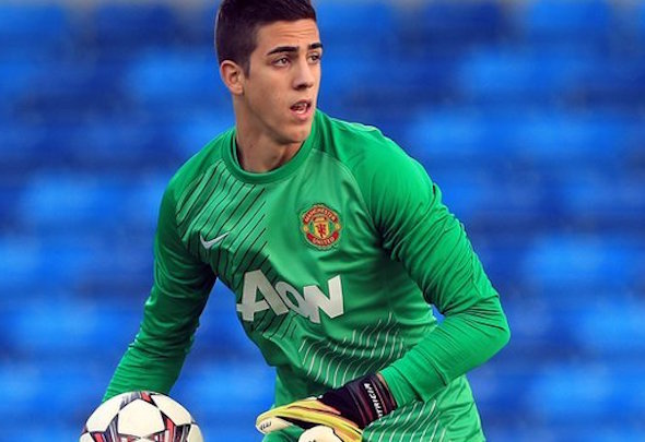 Joel Casto Pereira is on standby to be called up to the Manchester United team