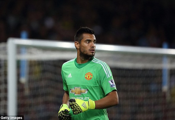 Sergio Romero has stepped in to replace the injured David de Gea