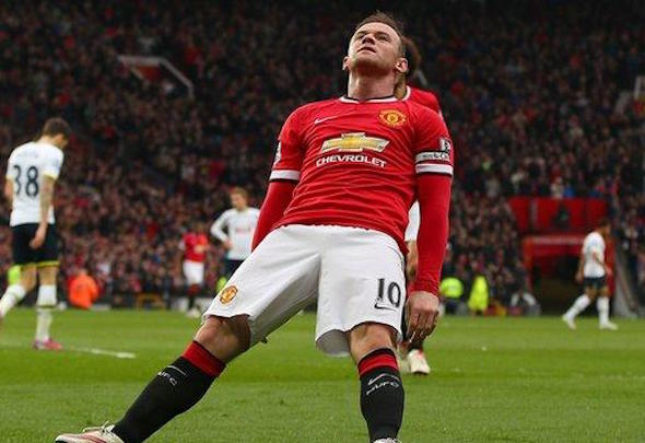 Wayne Rooney is facing two months on the sidelines with knee ligament damage