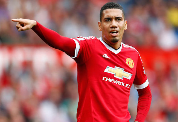 Chris Smalling has suffered a shoulder injury in the latest Manchester United blow