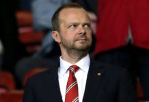 Manchester United chief Ed Woodward is in charge of transfers and contracts