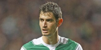 Nir Bitton playing for Celtic