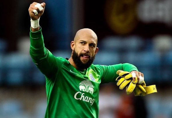 Tim Howard is leaving Everton to join MLS club Colorado Rapids in the summer