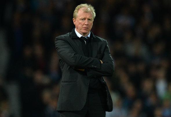Dark days: McClaren is struggling to turn around Newcastle situation