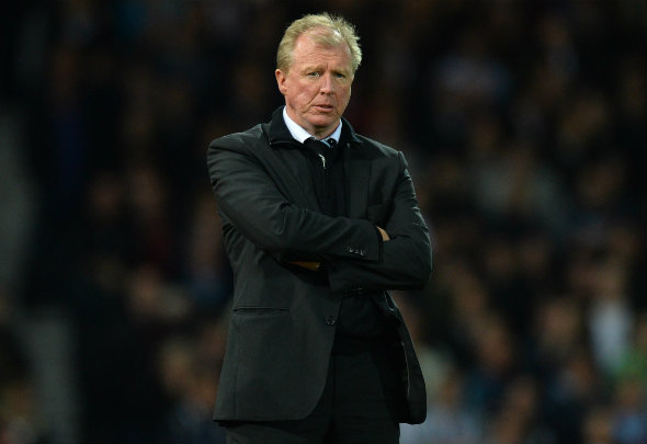 Dark days: McClaren is struggling to turn around Newcastle situation