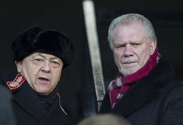 David Sullivan and David Gold are the joint chairmen of West Ham