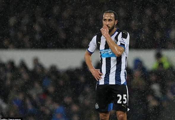 Andros Townsend joined Newcastle from Tottenham in the January window